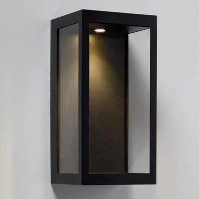Absinthe Lighting LED Wall Lamp Vitrum L Black 24001-02 - Copy