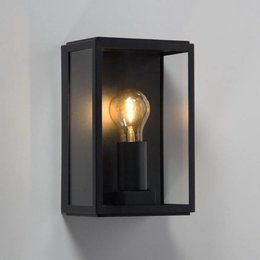 Absinthe Lighting LED Wall Lamp Vitrum L Black 24001-02 - Copy