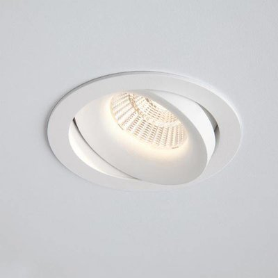 Absinthe Lighting Inbouwspot Clickfit Solo Smooth ADJ Wit 12075-01