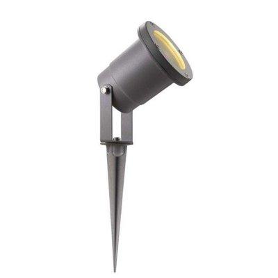 LED grondspot met grondpin Seemee zilvergrijs