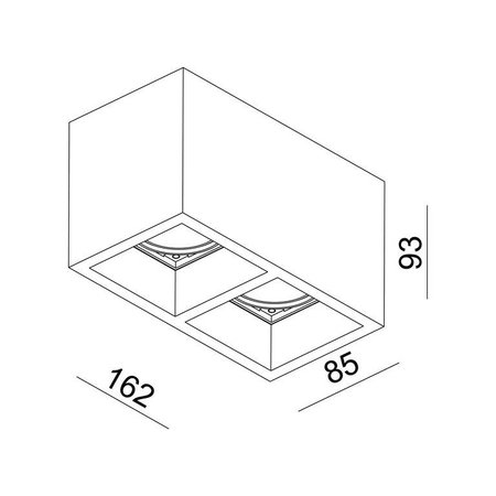 Absinthe Lighting LED Design Dubbele plafondspot Module