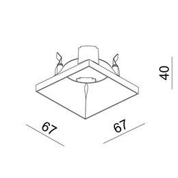 Absinthe Lighting reflector voor Modul