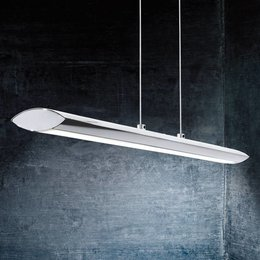 EGLO PELLARO design LED ceiling luminaire Chrome 93772