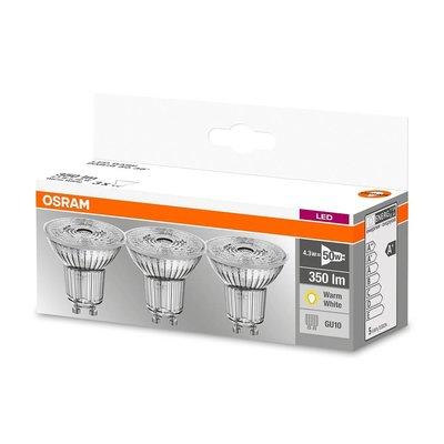 OSRAM Set of 3 LED STAR LEDspots 4.8-50W GU10 warm white