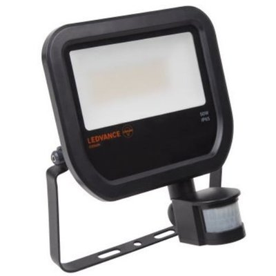 OSRAM Ledvance LED floodlight 50-400W black + sensor 4058075814714