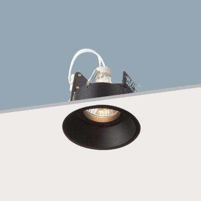 Absinthe Lighting Inbouwspot Djup R Hi Deep Zwart 16103-02