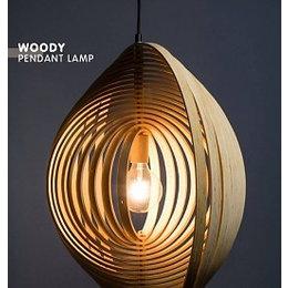 ETH LED rustic Pendant luminaire Woody 05-HL4308-71