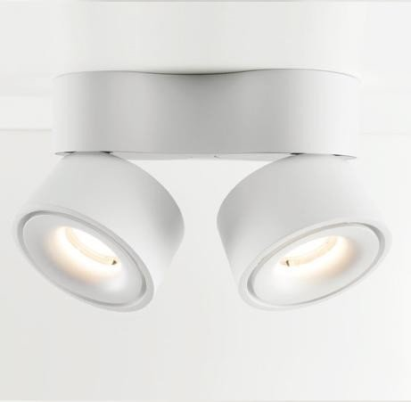 led design double ceiling spot nimis. Black Bedroom Furniture Sets. Home Design Ideas
