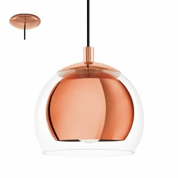 EGLO Lampe à suspension design Rocamar 94589