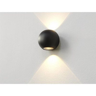 LioLights LED Wandlamp WL Denver IP54