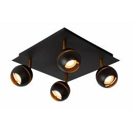 Lucide LED Surface spot Binari 4-Double