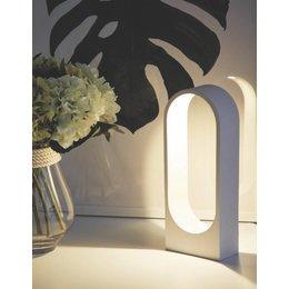 LioLights Lampe de table PORTA fluorescent blanc Porta WI