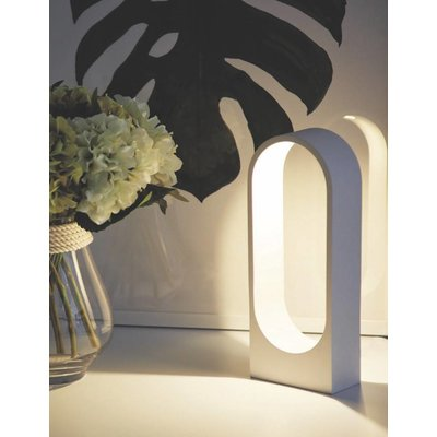 LioLights table lamp Porta white TL PORTA WI
