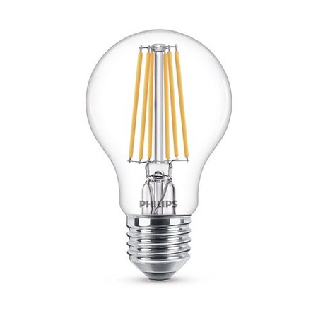 Philips E27 Retro Filament LED Classic A60 warm wit 8-75W