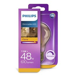 Philips E27 LED Filament Retro Classic Gold 7,5-48W E27 Dimmable