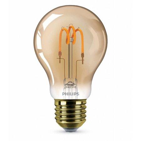 Philips E27 Retro Filament LED Classic 7,5-48W E27 Gold Dimbaar