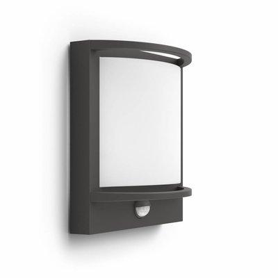 Philips LED Outdoor wall lamp MyGarden Samondra with sensor 1739293P0
