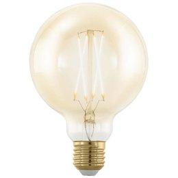 EGLO E27 Retro Filament LED lamp G95 4W 11693 DIM