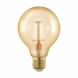 EGLO LED rétro Filament ampoule E27 G80 4W 11692 DIM