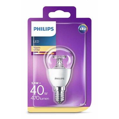 Philips LED ball lamp E14 5.5 = 40 W warm white