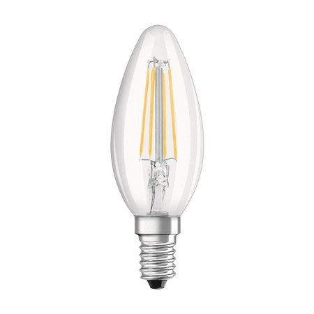 OSRAM Filament à LED Classic E14 4W blanc chaud lot de 2