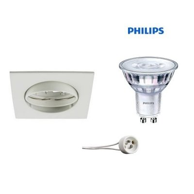 Philips Recessed WHITE GU10 LED 5Watt orientable