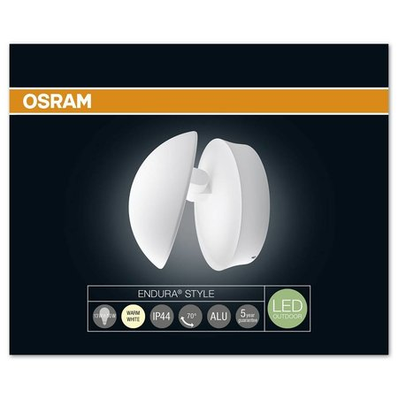 OSRAM 13W LED Wall Light Endura Style Cover ROUND