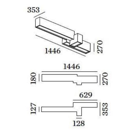 Wever & Ducré LED Design plafondarmatuur Bebow 3.0