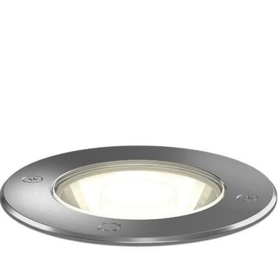 Wever & Ducré LED ground spot Map 1.2 INOX