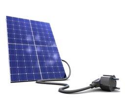zero Micro kit met 4 super panelen van 260 Wp of meer dan 1 k Watt met APS omvormers