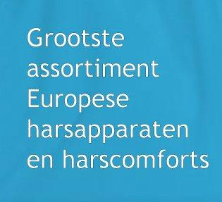 grootste assortiment europese harsapparaten