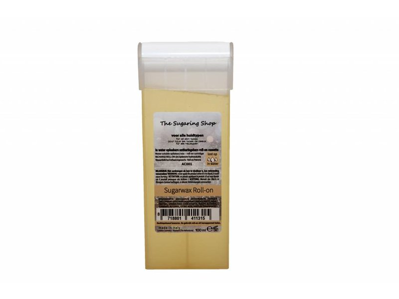 Harspatroon Sugarwax Roll-on grote roller 100 ml