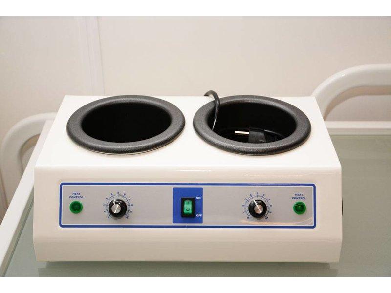 "Dubbele Waxverwarmer ""Doppio"" - Harsblikverwarmer"