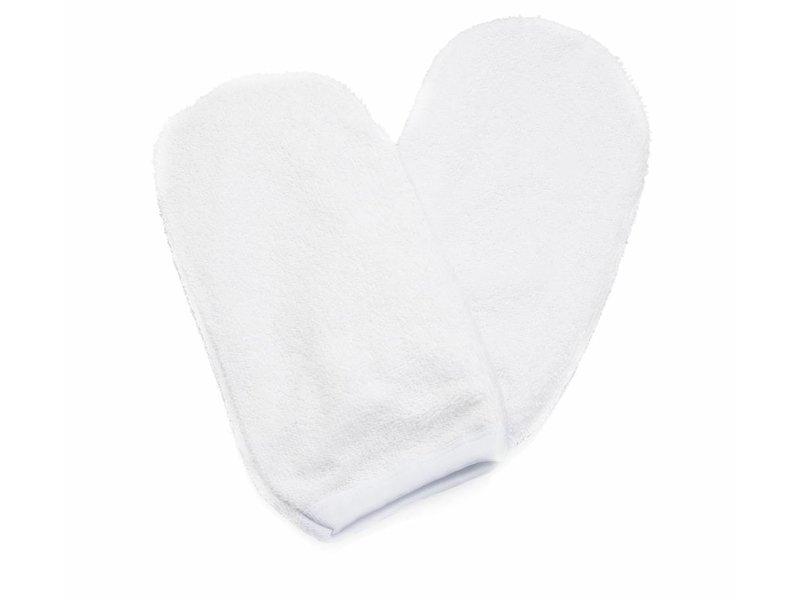 Xanitalia Katoenen Badstoffden Handschoen voor gebruik bij paraffine behandeling.