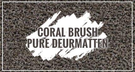 Coral Brush Pure deurmatten