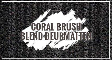 Coral Brush Blend deurmatten