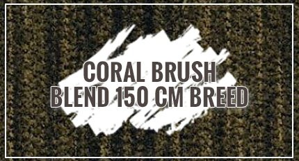 Coral Brush Blend 150 cm breed