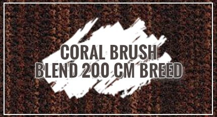 Coral Brush Blend 200 cm breed