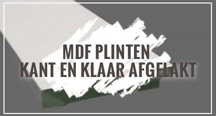 MDF Plinten kant en klaar afgelakt