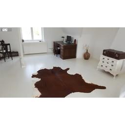 Strongfloor White painted wood flooring