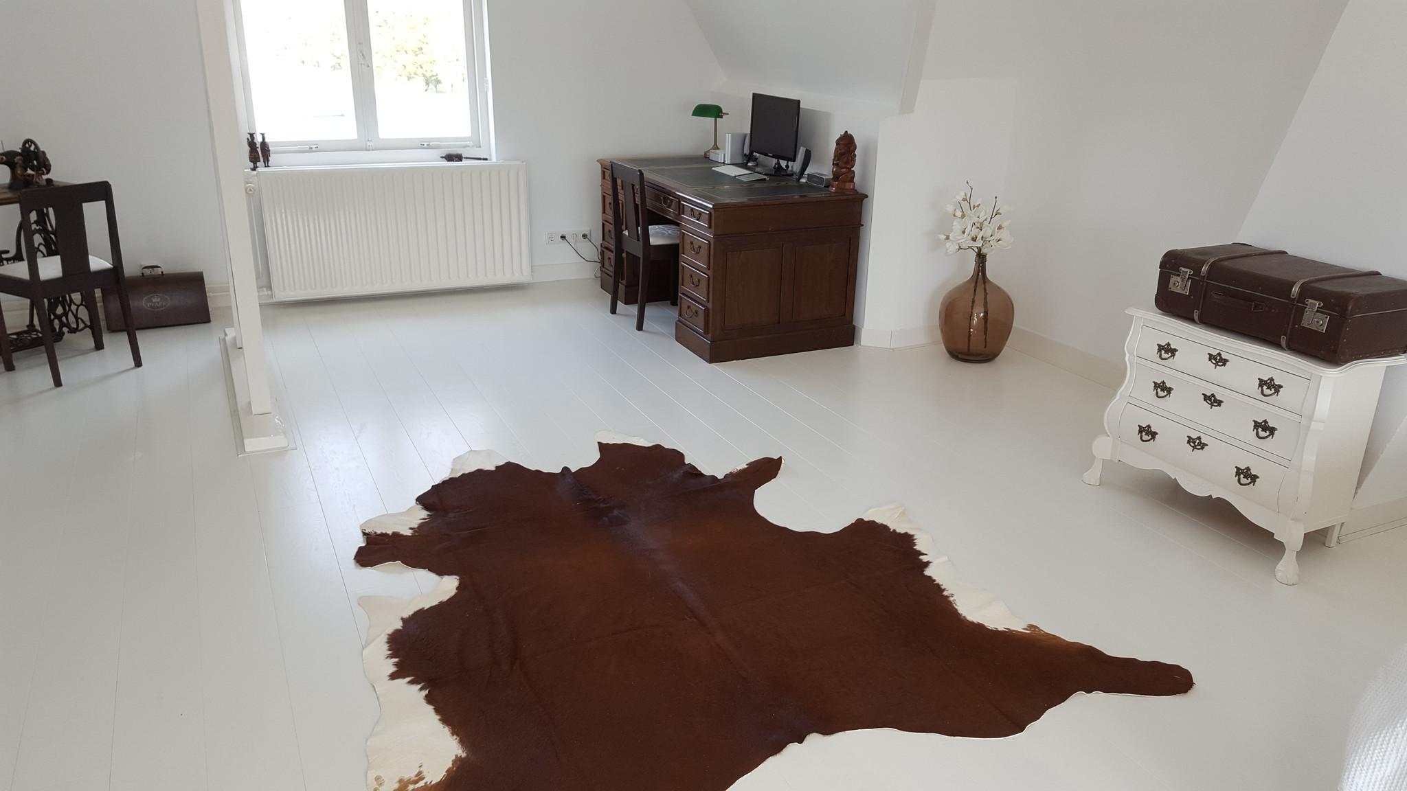 Geschilderde witte houten vloeren strongfloor houten vloeren