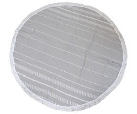 Hamam roundie Grey