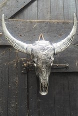 Damn Skull zilver antiek