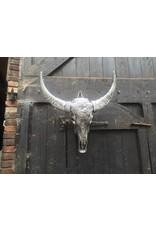 Damn Antique silver skull