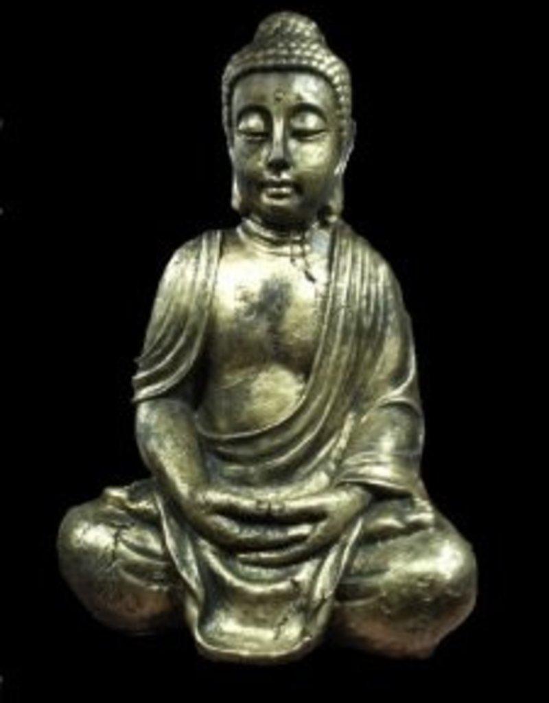 Buddha handen op schoot