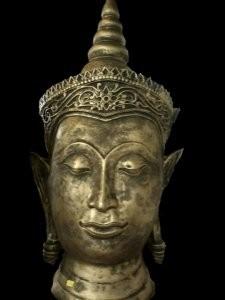 Boeddha hoofd groot ( punt)