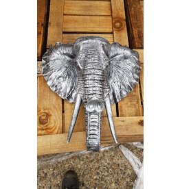 Damn Elephant old silver