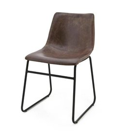 By-Boo Chair leatherlook camel