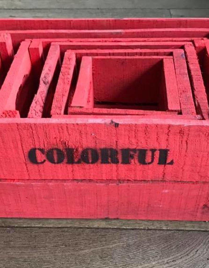 Kist brick red 15 x 15