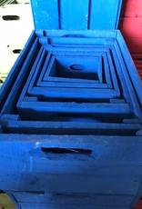 Kist cobalt blue 15 x 15